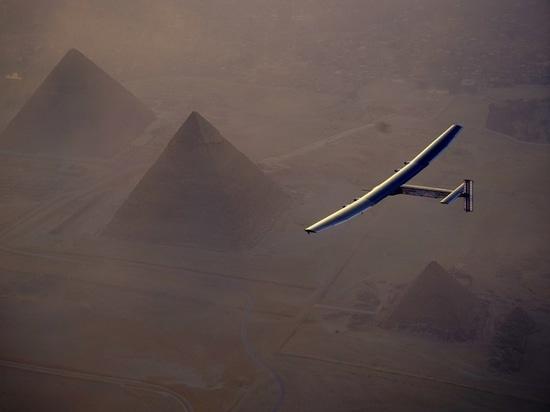Aterrizaje en El Cairo