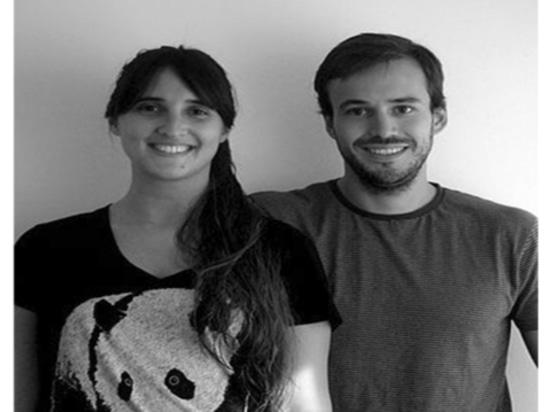 Pares Andrea Kac y Herman Schenck, fundadores del diseñador del estudio de Ambueblate