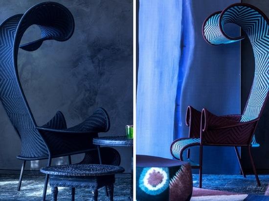 La silla vaga de la colección de M'Afrique de Moroso
