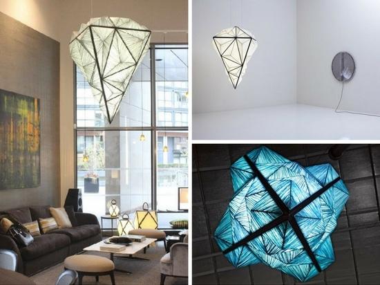 Colección zooide del diamante por la aguamarina