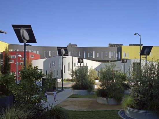 Un complejo de viviendas de David Baker Architects
