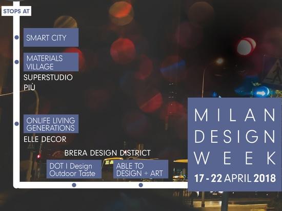 Semana 2018 del diseño de Milano