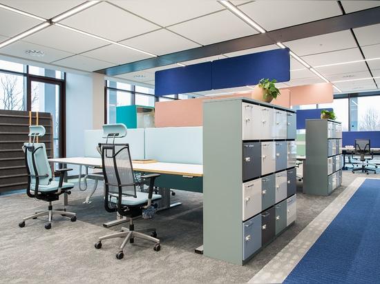 Centro de la inspiración de la oficina
