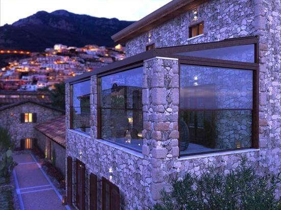Guillotinas de cristal en residencia tradicional