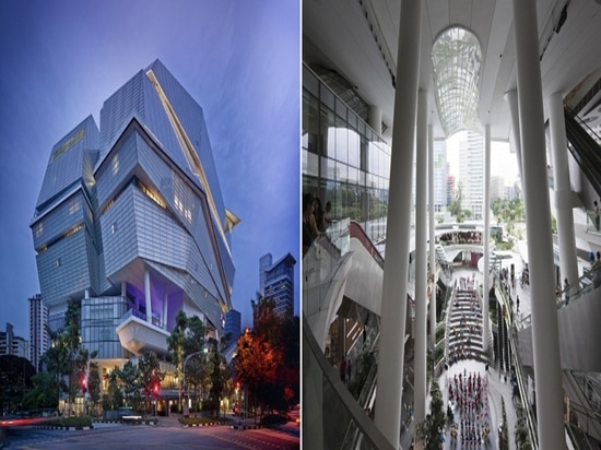 The Star en Singapur diseñó por Andrew Bromberg. Cortesía de Andrew Bromberg en Aedas.