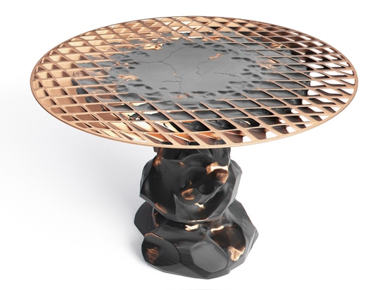 Janne Kyttanen amplía la colección de los muebles de Metsidian creada por la soldadura de la explosión