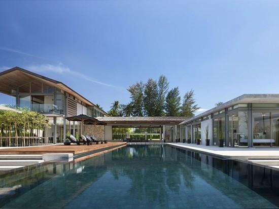 la visión original construye sai del sava alrededor de una piscina de 25 metros