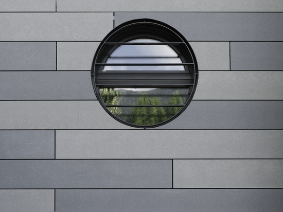 Fachada concreta reinorced fibra de vidrio