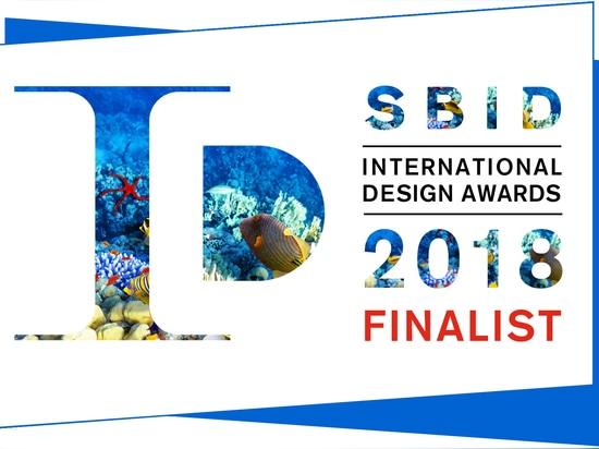 Premios internacionales 2018 del diseño de SBID