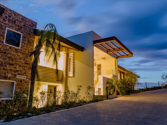 Proyecto residencial en Nicaragua con nuestro revestimiento Montblanc.