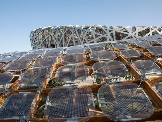 ENOJADO propone el 'jardín vivo' tan a casa del futuro en la visión 2018 de la casa de China