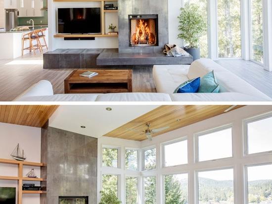 Cliff House por UNA arquitectura + interiores de la SEMILLA