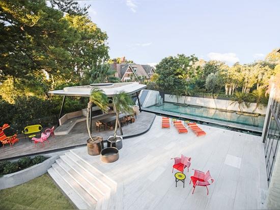 La casa de la colina de Bellevue de los arquitectos de Geoform