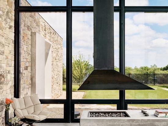 Esto nuevos materiales de los usos en el hogar que complementan el paisaje