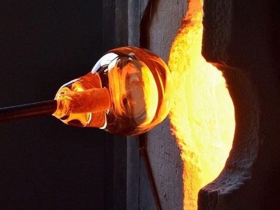 En las fabricaciones del vidrio