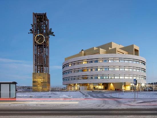 Kiruna City Hall - el cristal