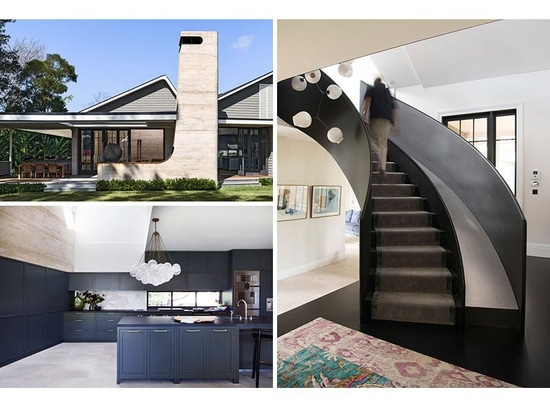 La casa del pueblo de Luigi Rosselli Architects