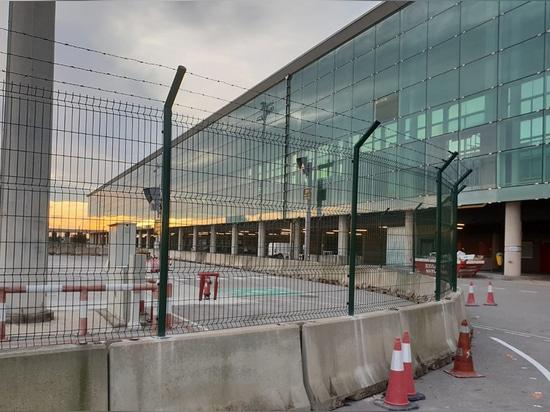 Vallado T1 Aeropuerto de Barcelona