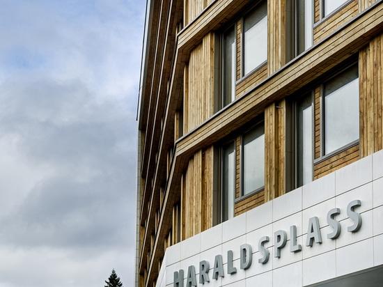 Hospital/C.F. Møller Architects de Haraldsplass