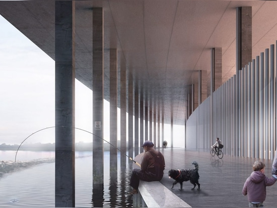 OMA revela los planes para el estadio de fútbol más grande en los Países Bajos
