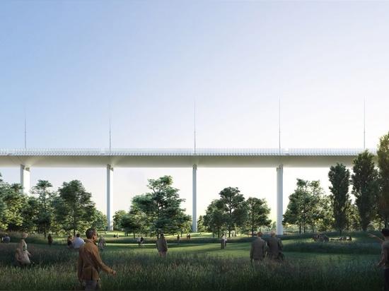 Renzo Piano revela el diseño para el desastre de siguiente del nuevo puente de Génova
