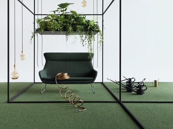 Detrás para el futuro: WELLTEX – forro innovador de la teja de la alfombra de la ALFOMBRA del OBJETO