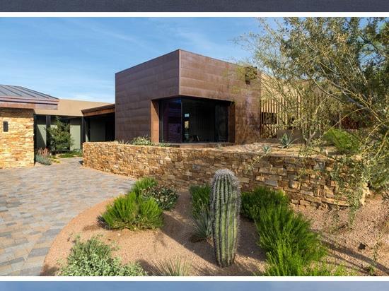 La residencia pintada del cielo por el diseño de Kendle colaborativo