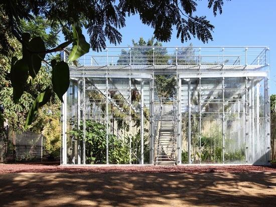 La casa cero de la orquídea de la energía se diseña para educar sobre la biodiversidad de Oaxaca