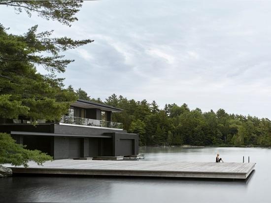 Varadero carbonizado del lago ontario de los clads del cedro de los arquitectos de Akb