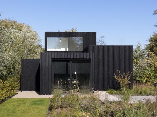 Arquitectos hogar/i29 + Chris Collaris interiores minúsculos del día de fiesta
