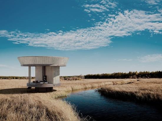 para ser presentado en la semana del diseño de Milano, el ojalá de la casa ofrece un mundo de la opción infinita