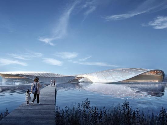 Ennead diseña la nueva reserva de naturaleza y el acuario público en China