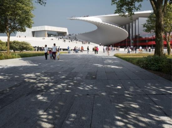 Snøhetta encargó el diseño de la Gran Ópera de Shanghai