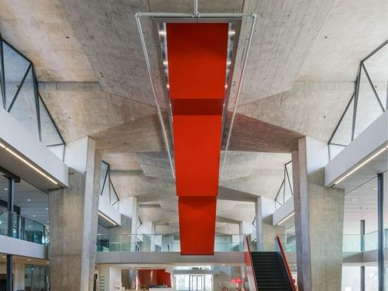 Atlas by Team V Architecture Award Ganador del Premio de Arquitectura de Edificios Universitarios Inteligentes y Sostenibles