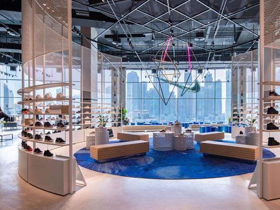 sala de exposición Nike