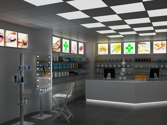 espejo de maquillaje en Farmacia
