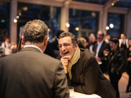 La dolce vita: la fantástica velada de Wilkhahn en la sala de exposiciones de Villa Necchi Campiglio en Milán. Foto: Wilkhahn