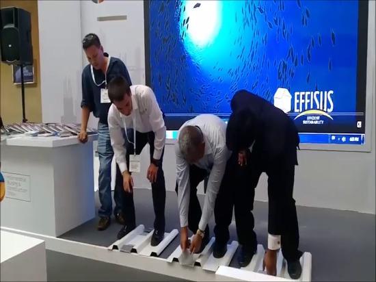 Membrana de Effisus Easyrepair en 5 grandes Dubai 2016 de los vídeos de VirtualExpo en Vimeo.