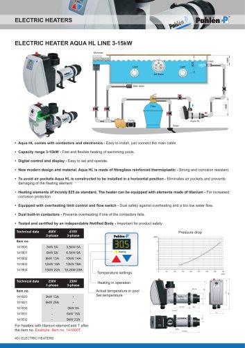 electric Heater aqua Hl