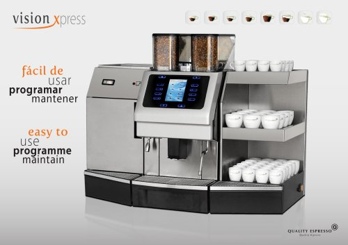 Máquina Automática Vision Xpress