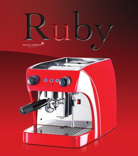 Máquinas de cafe Ruby y Ruby Pro