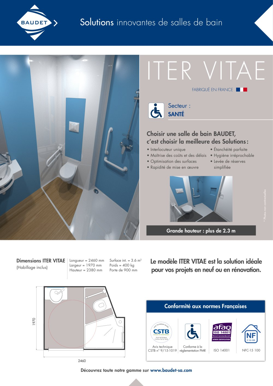 Iter Vitae Baudet Sa Cat Logo Pdf Documentaci N Brochure