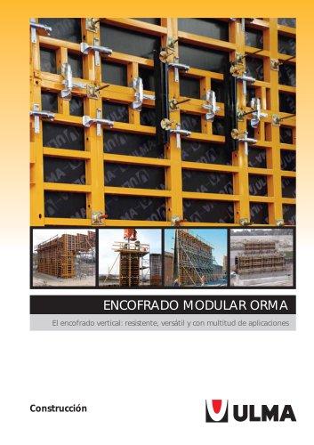 Encofrado modular ORMA