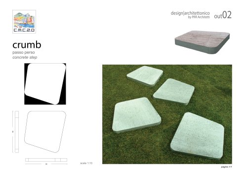 outdoor furniture concrete steps