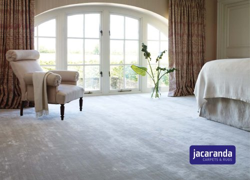 Catálogo de moquetas y alfombras de Jacaranda