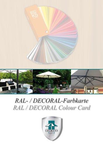 Frame colours RAL