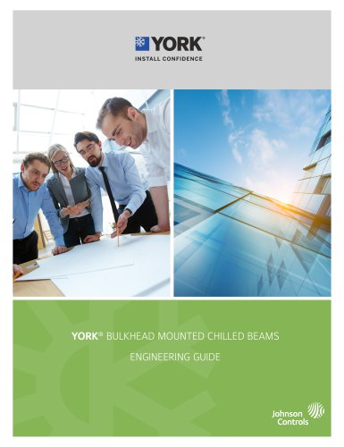 YORK® HORIZONTAL RECESSED ACTIVE CHILLED BEAMS
