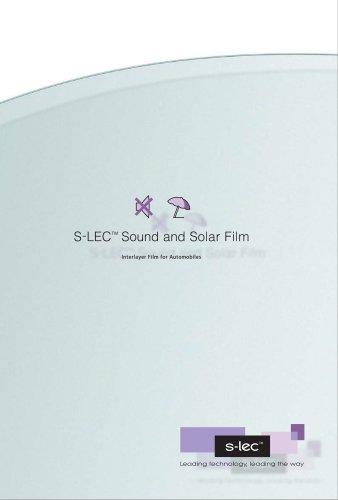 S-LEC™ Sound and Solar Film