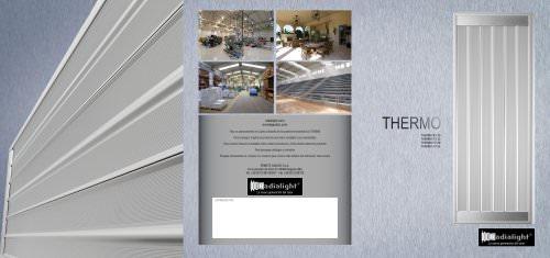 THERMO: paneles radiantes para la calefacción de locales industriales, comerciales