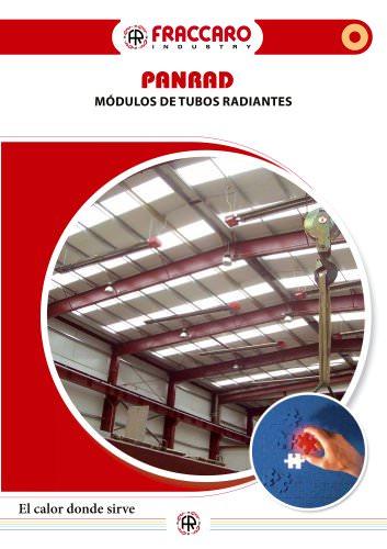 PANRAD - MODULOS DE TUBOS RADIANTES